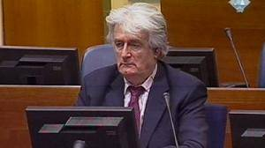 Karadzic begins his defence in The Hague