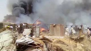 Nigeria: un incendie fait 14 morts dans un camp de déplacés