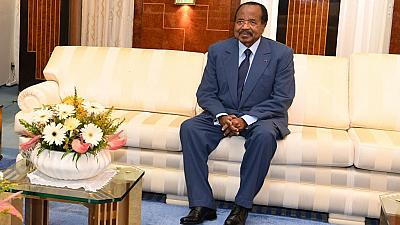 Cameroon's 'missing president' reappears, holds COVID-19 meeting