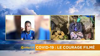 """Courage through a lens"", a Ugandan journalist's COVID-19 chronicle"