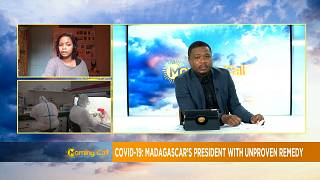 Madagascar president with herbal remedy for COVID-19 [Morning Call]