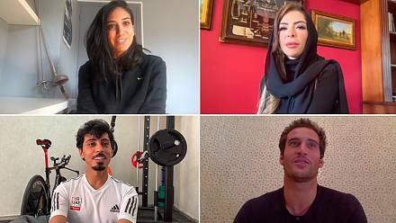 How are MENA athletes reacting to the postponement of the Tokyo Olympics?