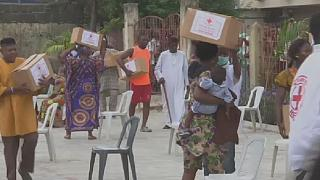 Nigeria Red Cross donates relief items to the vulnerable