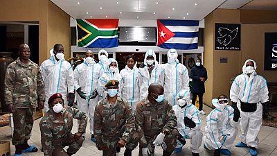 Coronavirus : plus de 200 médecins cubains en Afrique du Sud
