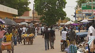 Burkinabe traders demonstrate to demand reopening of markets