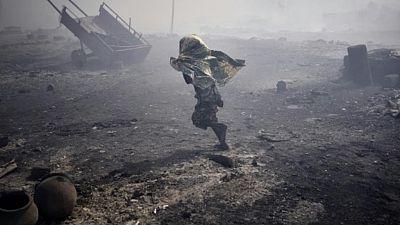 Fire destroys Malian displaced camp