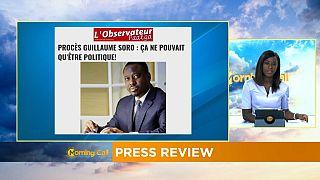 La justice ivoirienne assène un nouveau coup à Guilluame Soro [Revue de presse]
