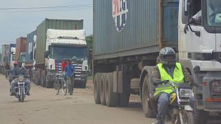 Uganda restricts trucks on busy route to curb spread of coronavirus