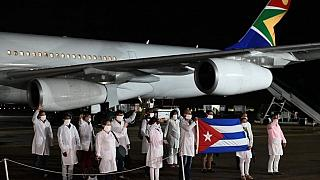 COVID-19: US criticises South Africa for accepting Cuban doctors
