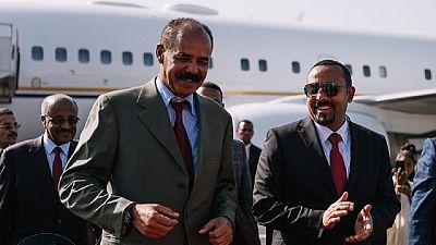 Eritrea prez in Ethiopia: dam inauguration in Oromia