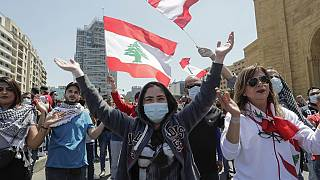 Protest clashes in Lebanon amid currency crash [No Comment]