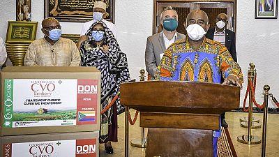 Guinée-Bissau: réception de la tisane anti-Covid made in Madagascar