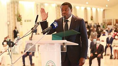 Togo president takes oath of office for fourth straight term
