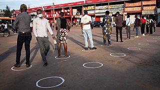 Rwandans in streets on first day of lockdown easing