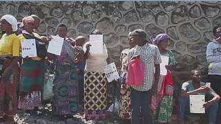 DRC: Refugees protest harsh living conditions in Goma