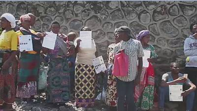 RDC : Sit-in des réfugiés de Goma