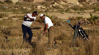 Libyan golf flourishes with no equipment
