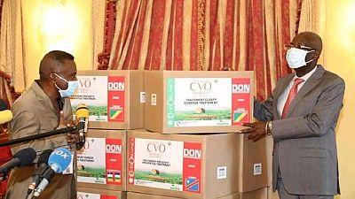 Coronavirus: le Congo-Brazzaville reçoit un lot de covid-organics
