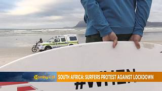 South Africa: surfers protest against lockdown [Morning Call]