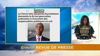 Burundi : le retour des exilés politiques [Morning Call]