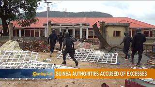 COVID-19: Guinean security forces accused of violence