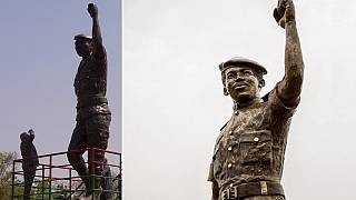 Burkina Faso unveils upgraded statue of Thomas Sankara
