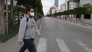 COVID-19 : Tripoli et Tunis, villes mortes