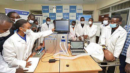 3D masks - ventilators: Kenya tech-novators on virus-combat mission