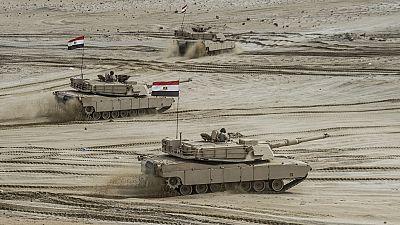 Egypte : 21 jihadistes présumés tués par les forces de sécurité