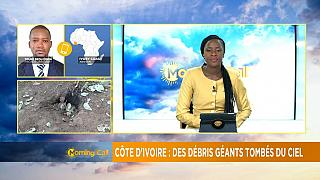Débris géants en Côte D'Ivoire [Morning Call]
