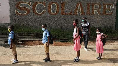 Ivorian schools reopen after virus shutdown