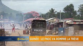 Guinée : le Fndc se prépare à défier les autorités [Morning Call]