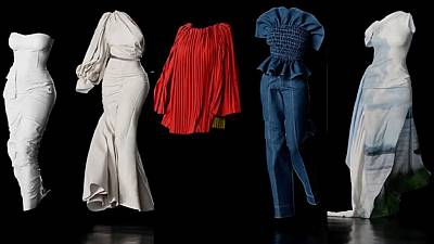 Haute couture: DRC designer pulls of 3D show via Instagram LIVE