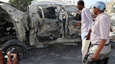 Somalie : au moins 10 morts dans l'explosion d'un minibus