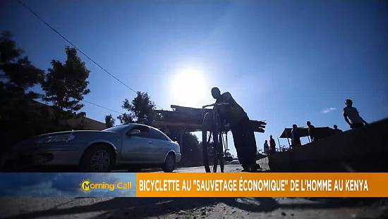 Bicycle to the 'economic rescue' of man in Kenya [Morning Call]