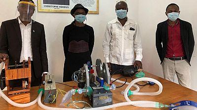 Coronavirus : le Congo-Brazzaville lance son premier respirateur