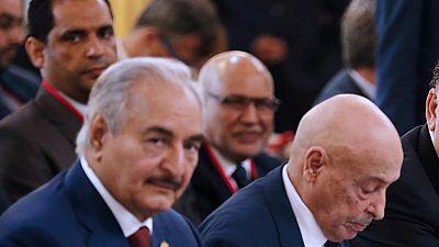 Libye : Haftar d'accord pour un cessez-le-feu à partir de lundi (Egypte)