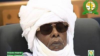 Ex-Chadian dictator Hissene Habre returns to prison