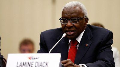 L'ex-patron de l'IAAF Lamine Diack devant la justice