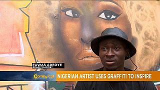 Fawas Adeoye, un artiste du street Art[Grand Angle]