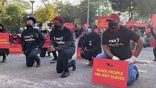 George Floyd: en Afrique du Sud, la gauche radicale manifeste contre le racisme