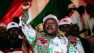 Pierre Nkurunziza: Burundi rebel leader turned controversial president