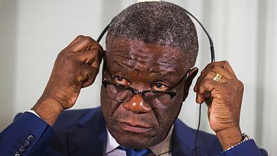 Mukwege quits DRC virus task force, bemoans testing delays
