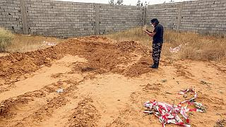 UN horrified about mass graves discovery in Libya