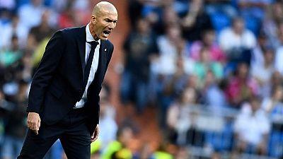 """Real Madrid : """"Je n'aime pas jouer sans public"""", confie Zidane"""