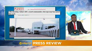 Buhari orders investigation into shooting at presidential villa [PRESS REVIEW]