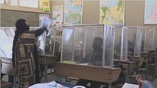 Cape Town school installs DIY screens to prevent virus spread