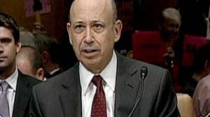 Goldman Sachs boss faces Senate critics