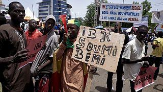 Mali : des milliers de manifestants réclament le départ du président Keïta à Bamako