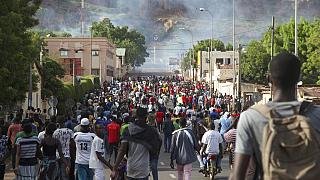 Malian protesters continue mass rally demanding president quits